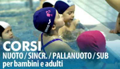 scuola nuoto federale FIN
